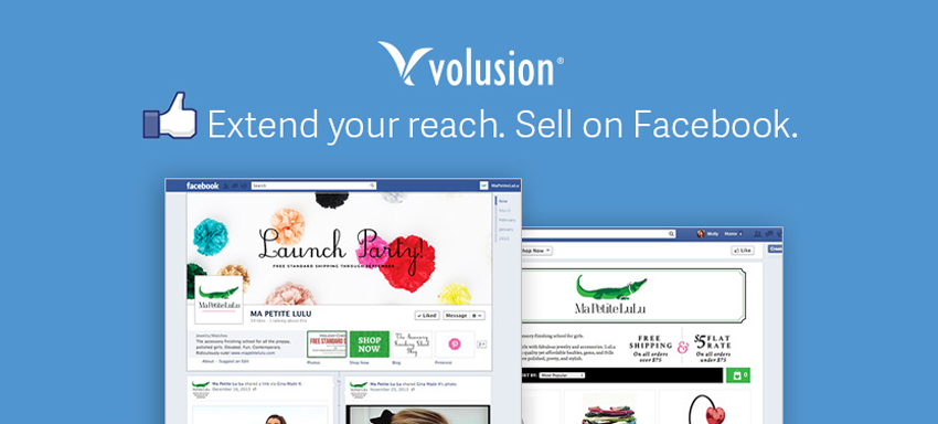 Increasing Sales through Volusion's Facebook Store