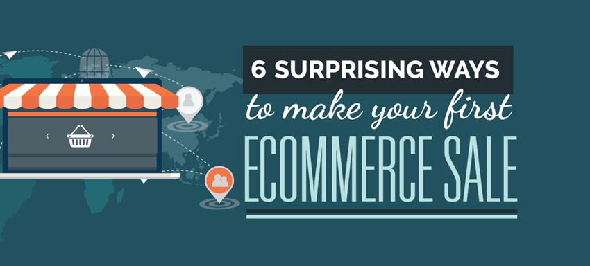 How to crack your first e-commerce sale
