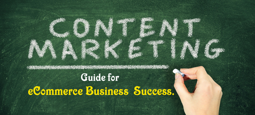 No content marketing, no ecommerce success.