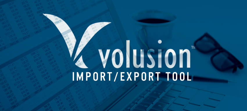 Volusion Import/export tool