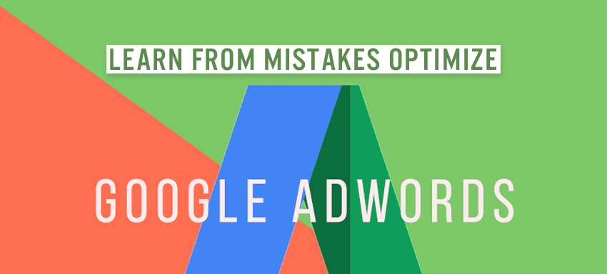 Mistake of Google Adwords