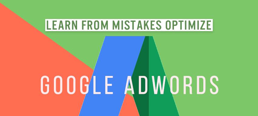 Mistake of Google Adwords