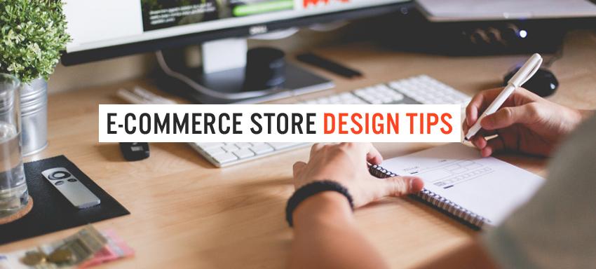 E-commerce store design tips