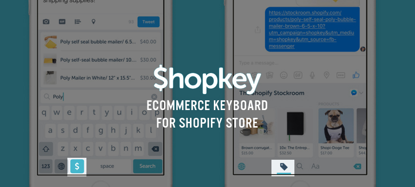 ShopKey – Ecommerce Keyboard for Shopify store
