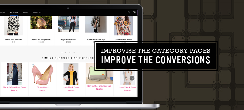 Tips to optimize E-commerce category pages