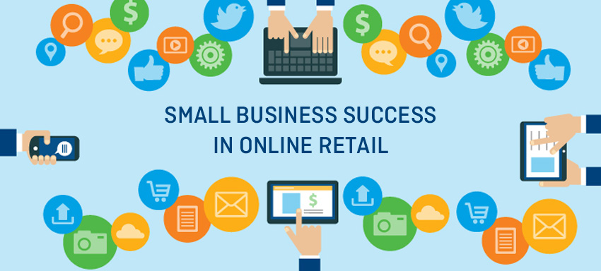 Small business success in online retail