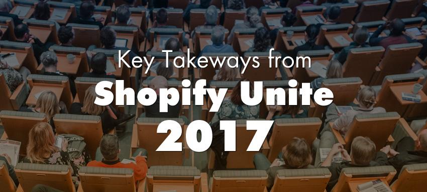 Shopify Unite 2017