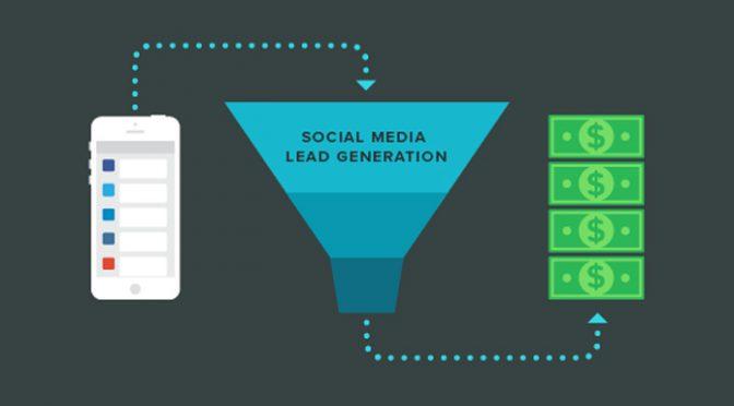 Lead generation from social media