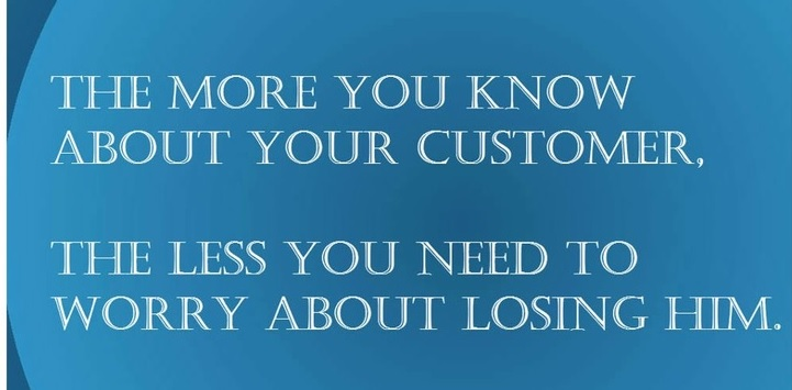 get to know your customers day quote