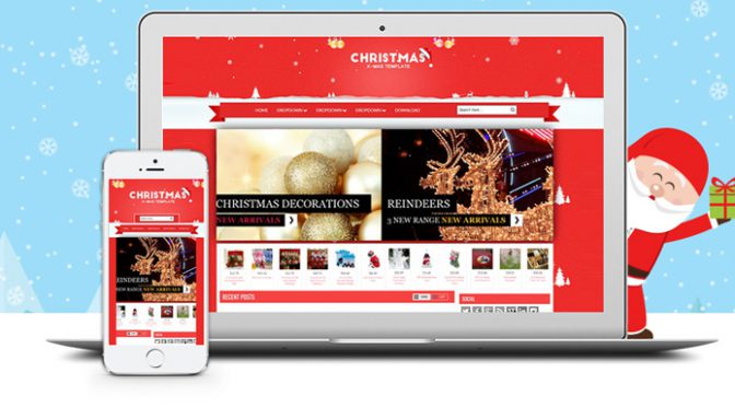 Give Holiday flair to your ecommerce store with a special Holiday Makeover