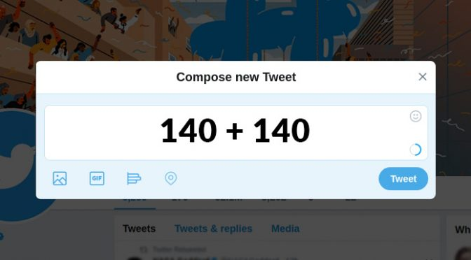 Twitters increased character limit update