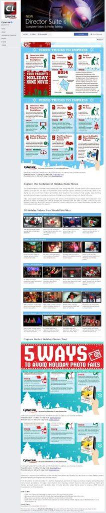 Cyberlink Facebook Page Design