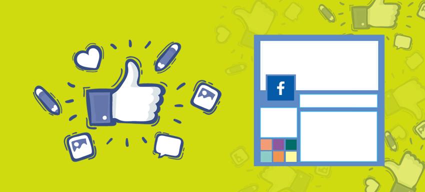 Facebook Page Design Example