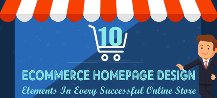eCommerce Homepage Design