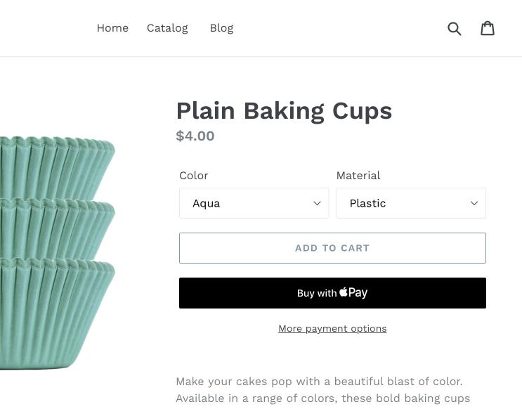 Shopify Dynamic Checkout Page