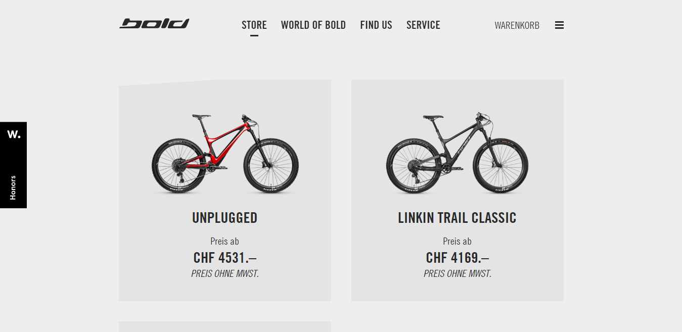 eCommerce store designs