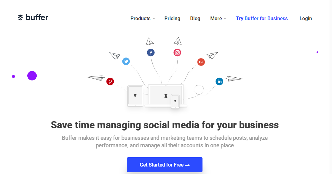 Buffer - Social Media Automation