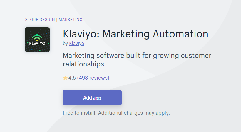 Klaviyo - MailChimp Alternative for Shopify