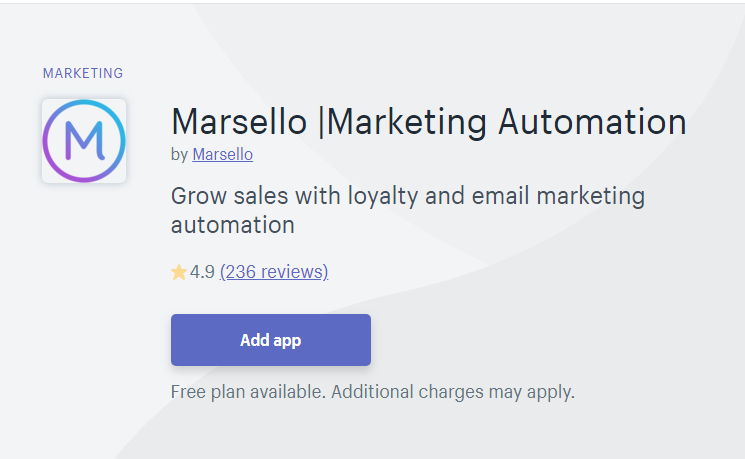 Marsello - MailChimp Alternative for Shopify