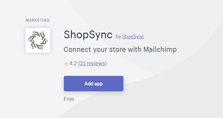ShopSync - MailChimp Alternative for Shopify
