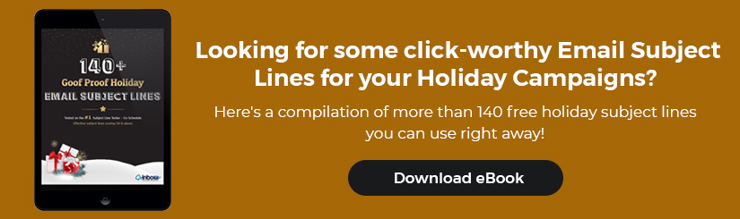 140+ holiday email subject lines to boost open rate
