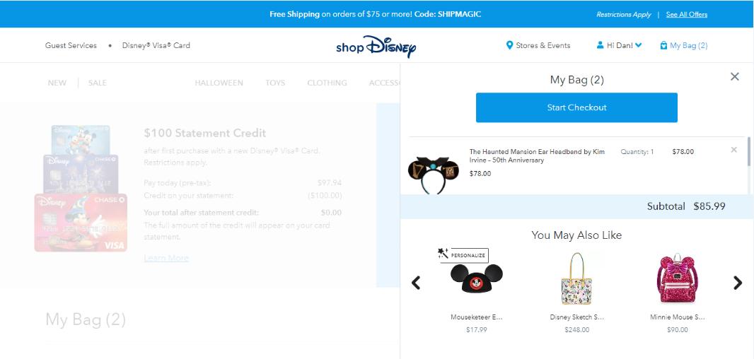 eCommerce Personalization - Product recommendationj