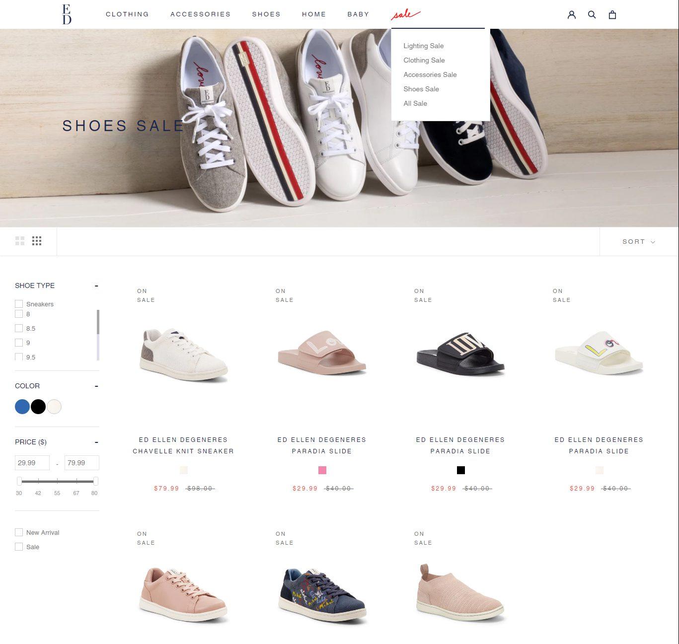 edbyellen - best shopify clothing store