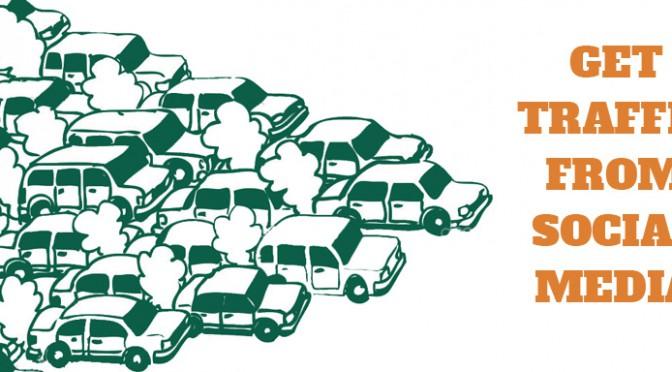 Get traffic from social media