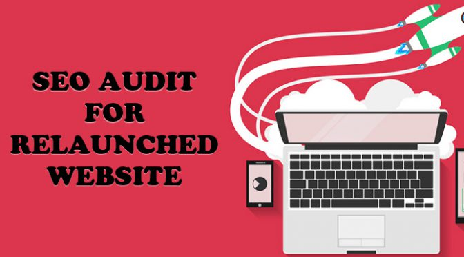 SEO Audit for relaunched website
