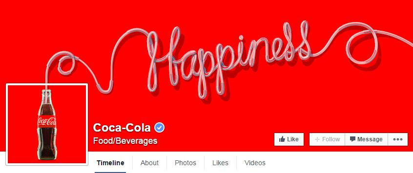 coca-cola Facebook