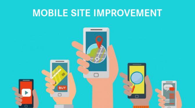 Mobile site improvement