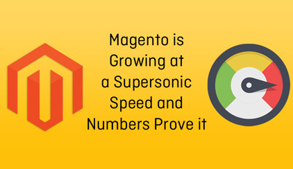 Magento is a supersonic speed